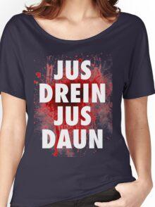 Jus drein jus daun the 100 black shirt Women's Relaxed Fit T-Shirt
