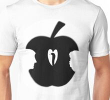 FORBIDDEN--TEMPTATION...ADAM & EVE--APPLE--SERPENT.-JOURNAL-.PICTURE-PILLOW-TOTE BAG-CELL PHONE COVERS ECT. Unisex T-Shirt