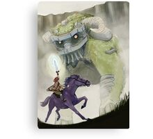 The First Colossus Canvas Print
