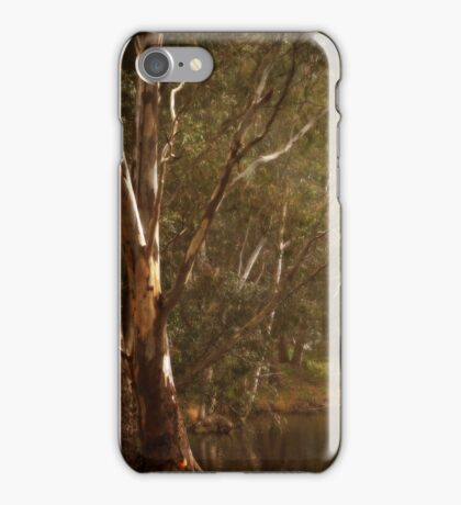 Theres those Two Tall Trees Again By Lorraine McCarthy iPhone Case/Skin