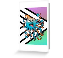 Hyper Colour Occy! Greeting Card