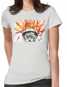 Kitty Geeking Womens Fitted T-Shirt