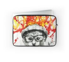 Kitty Geeking Laptop Sleeve