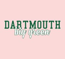 Dartmouth University One Piece - Short Sleeve