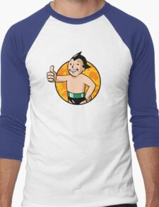 Astro Vault Boy Men's Baseball ¾ T-Shirt