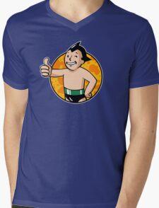 Astro Vault Boy Mens V-Neck T-Shirt