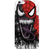 spiderman venom mash up iPhone Case/Skin