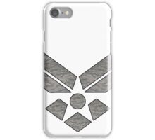 U.S. Air Force Logo Camo iPhone Case/Skin