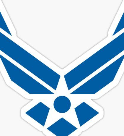 U.S. Air Force Logo Blue Sticker