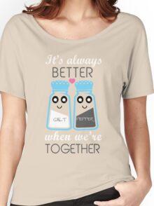salt and pepper  Women's Relaxed Fit T-Shirt