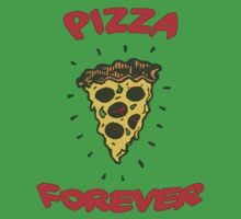 PIZZA IS FOREVER One Piece - Short Sleeve