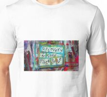 a safe place to be Unisex T-Shirt