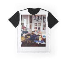 Haruko & Mamimi (Flcl) Graphic T-Shirt