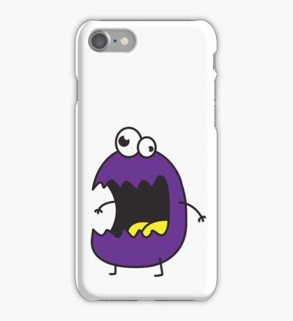 Little Purple Monster iPhone Case/Skin