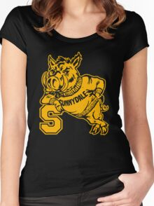 Sunnydale High Razorbacks Funny Men's Hoodie Women's Fitted Scoop T-Shirt