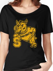 Sunnydale High Razorbacks Funny Men's Hoodie Women's Relaxed Fit T-Shirt