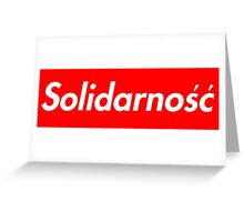Solidarność Logo (Solidarity - Poland) Greeting Card