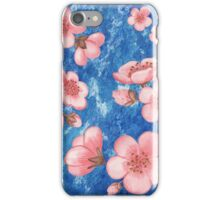 Pink Flowers for Baby Room iPhone Case/Skin