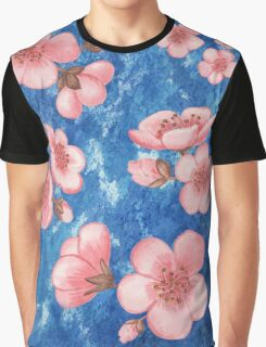 Pink Flowers for Baby Room Graphic T-Shirt