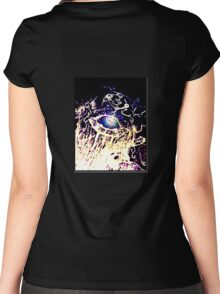 The Eye Women's Fitted Scoop T-Shirt