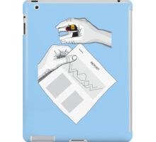 Voltron in the office iPad Case/Skin