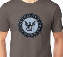 U.S. Navy Logo Digital Camo Unisex T-Shirt