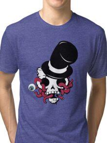 Skull Hat Tri-blend T-Shirt