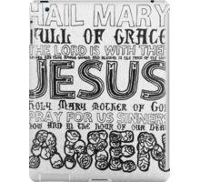 Hail Mary iPad Case/Skin