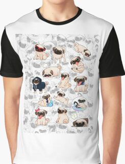a lot of pugs Graphic T-Shirt
