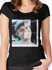Mac Demarco Sliding puzzle  Women's Fitted Scoop T-Shirt