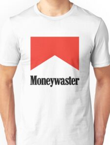 Moneywaster Funny Marlboro parody anti-smoking shirt  Unisex T-Shirt