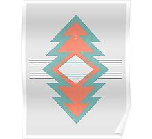 Southwestern Geometric Poster