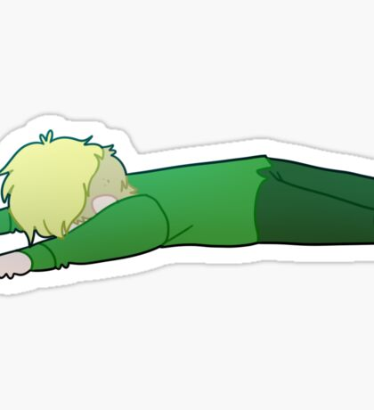 Jeff got hurt and collapsed... Sticker