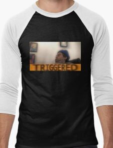 Triggered h3h3 Men's Baseball ¾ T-Shirt