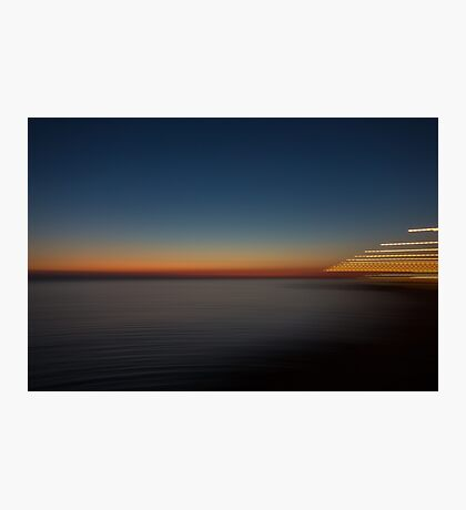 Sunset in Greece Photographic Print