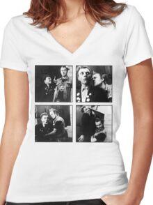 Bachelor Boys Women's Fitted V-Neck T-Shirt
