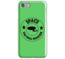 Star Trek Space, The Final Frontier iPhone Case/Skin