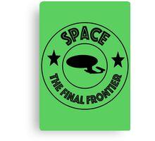Star Trek Space, The Final Frontier Canvas Print