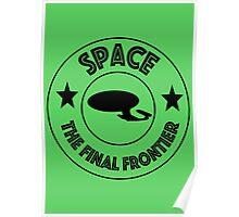 Star Trek Space, The Final Frontier Poster