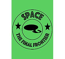 Star Trek Space, The Final Frontier Photographic Print