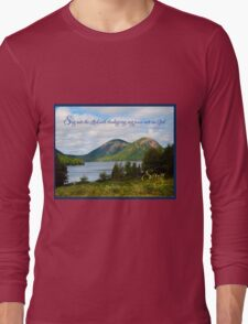 Sing Unto The Lord Long Sleeve T-Shirt