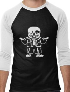 Undertale- Sans Men's Baseball ¾ T-Shirt