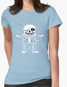Undertale- Sans Womens Fitted T-Shirt
