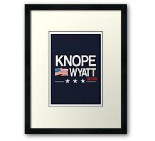 Knope 2020 Framed Print