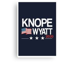 Knope 2020 Canvas Print