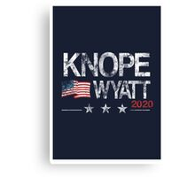 Knope 2020 Distressed Canvas Print