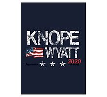 Knope 2020 Distressed Photographic Print