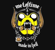 Metal time : made in Hell Men's Baseball ¾ T-Shirt