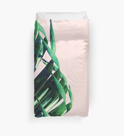 Palm V2 #redbubble #lifestyle #home #style Duvet Cover