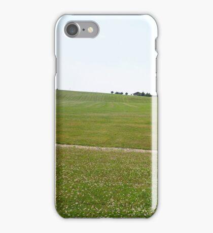 The Woodstock Concert Field  iPhone Case/Skin
